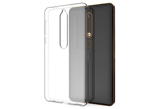 Colorfone CoolSkin3T Nokia 6.1 Tr. Wit