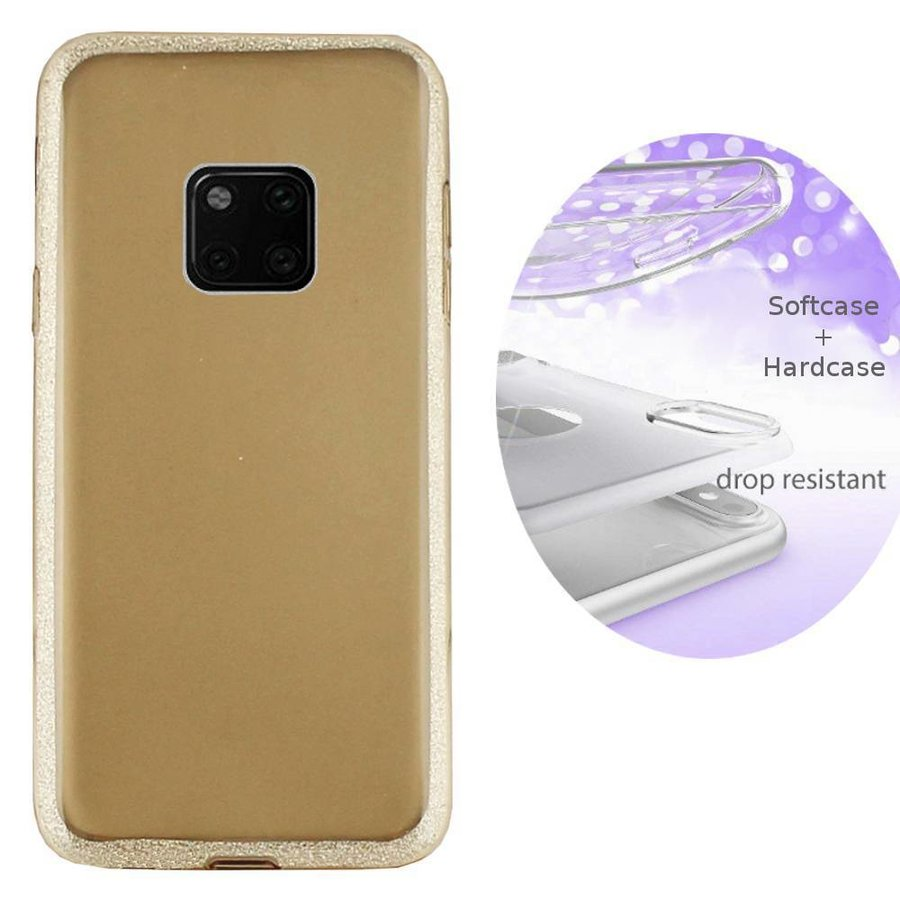 BackCover Layer TPU + PC Huawei Mate 20 Pro Goud