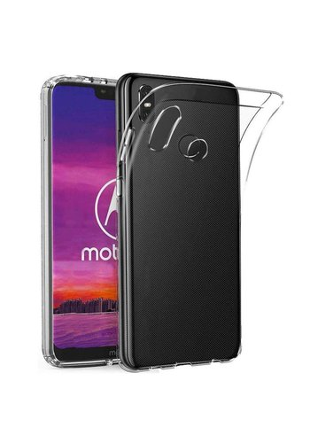 Colorfone CoolSkin3T Motorola One Transparant Wit