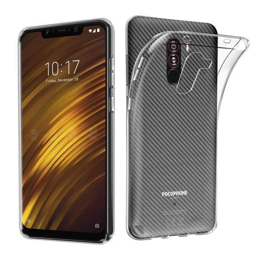 Pokrowiec CoolSkin3T do Xiaomi Pocophone F1 Transparent White