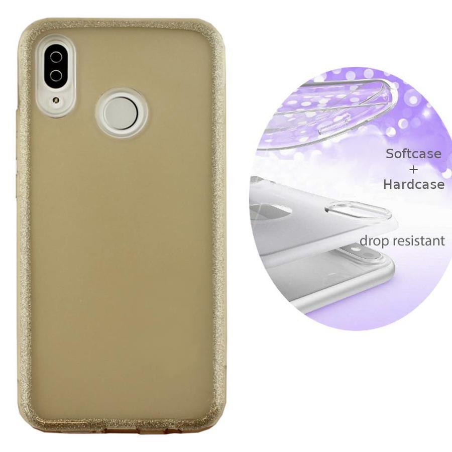 Backcover TPU + PC Huawei P Smart Plus / Nova 3i Gold