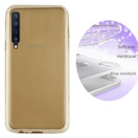 BackCover Layer TPU + PC Samsung A7 2018 Goud