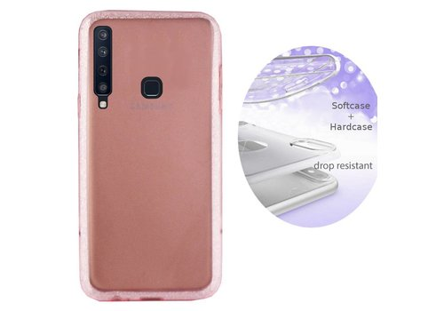 Colorfone BackCover Layer Samsung A9 2018 Pink