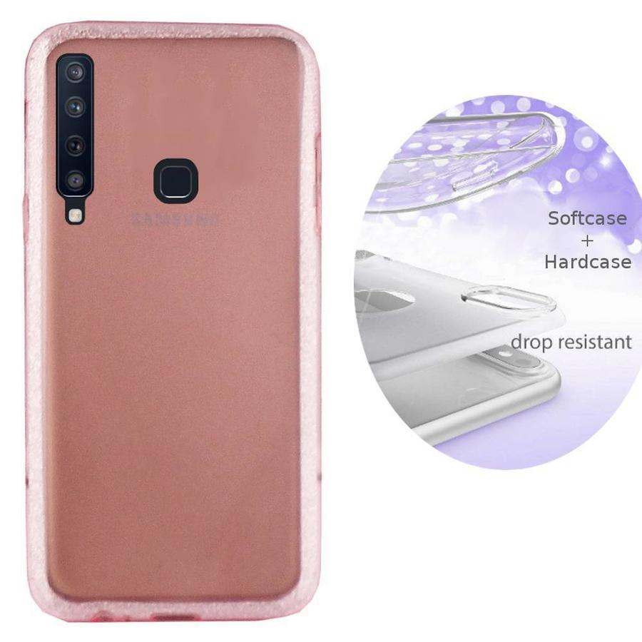 BackCover Layer TPU + PC Samsung A9 2018 Roze