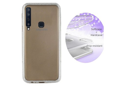 Colorfone BackCover Layer Samsung A9 2018 Silver