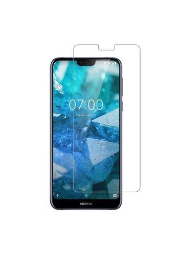 Colorfone Glas Nokia 7.1 Transparent