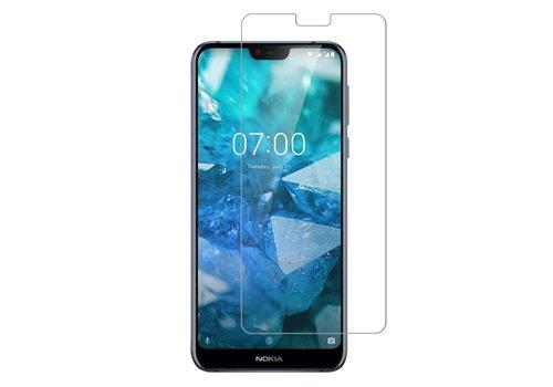 Colorfone Glass Nokia 7.1 Transparant