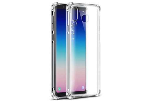 Colorfone Backcover Shockproof Samsung A9 2018 Transparant