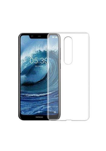 Colorfone CoolSkin3T Nokia 5.1 Plus Tr. Biały