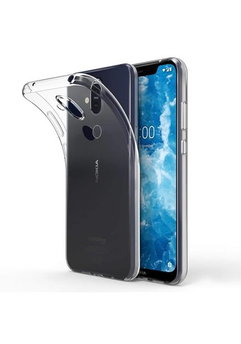 Colorfone CoolSkin3T Nokia 8.1 Tr. Wit