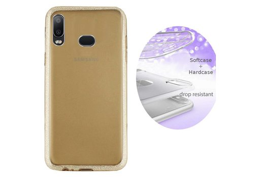 Colorfone BackCover Layer Samsung A6s Gold