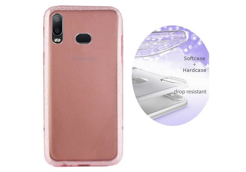 Colorfone BackCover Layer Samsung A6s Pink