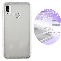 BackCover Layer TPU + PC Huawei Y9 2019 Silber