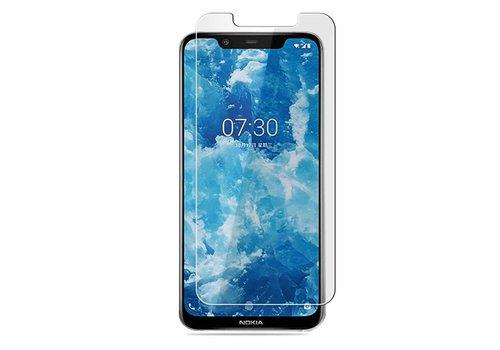 Colorfone Glass Nokia 8.1 Transparant