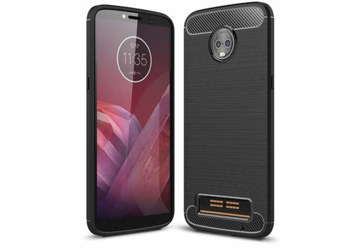 Colorfone Armour 1 Moto Z3 Play Zwart