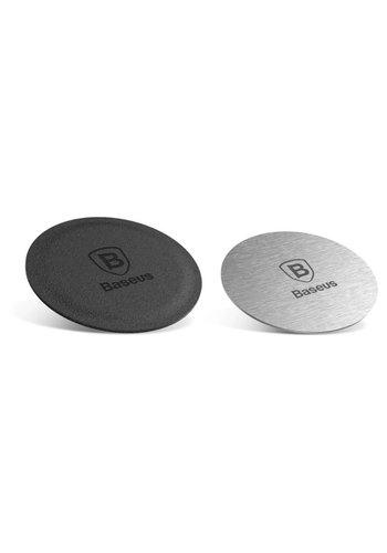 Baseus Płytki magnetyczne 2 szt. Universal Silver