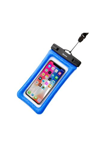 """Baseus Waterproof Cover Universal up to 6 """"Blue"""