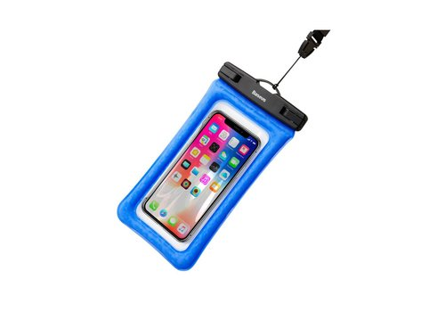 "Baseus Waterproof Cover Universal up to 6 ""Blue"