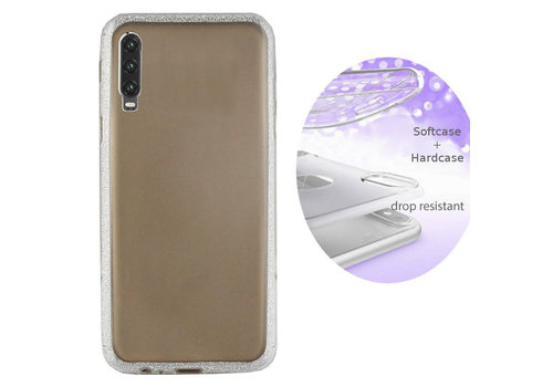 Colorfone BackCover Layer Huawei P30 Silver