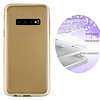 Colorfone BackCover Layer TPU + PC Samsung S10E Goud