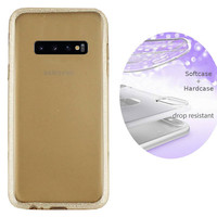 BackCover Layer TPU + PC Samsung S10 Plus Goud
