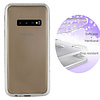 Colorfone BackCover Layer TPU + PC Samsung S10 Plus Silber