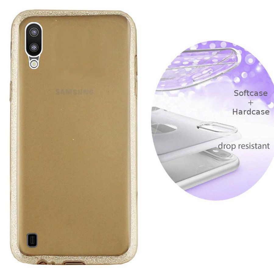 BackCover Layer TPU + PC Samsung M10 Goud