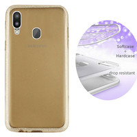 BackCover Layer TPU + PC Samsung M20 Goud
