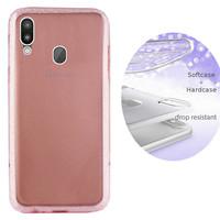BackCover Layer TPU + PC Samsung M20 Roze