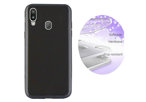 Colorfone BackCover Layer Samsung M20 Black
