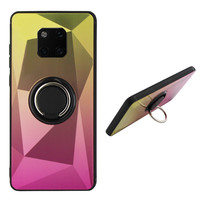 BackCover Ring Aurora für Huawei Mate 20 Pro Gold + Pink