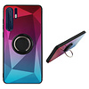 Colorfone BackCover Ring Aurora voor Huawei P30 Pro Roze+Blauw