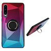 Colorfone BackCover Ring Aurora voor Huawei P30 Roze+Blauw