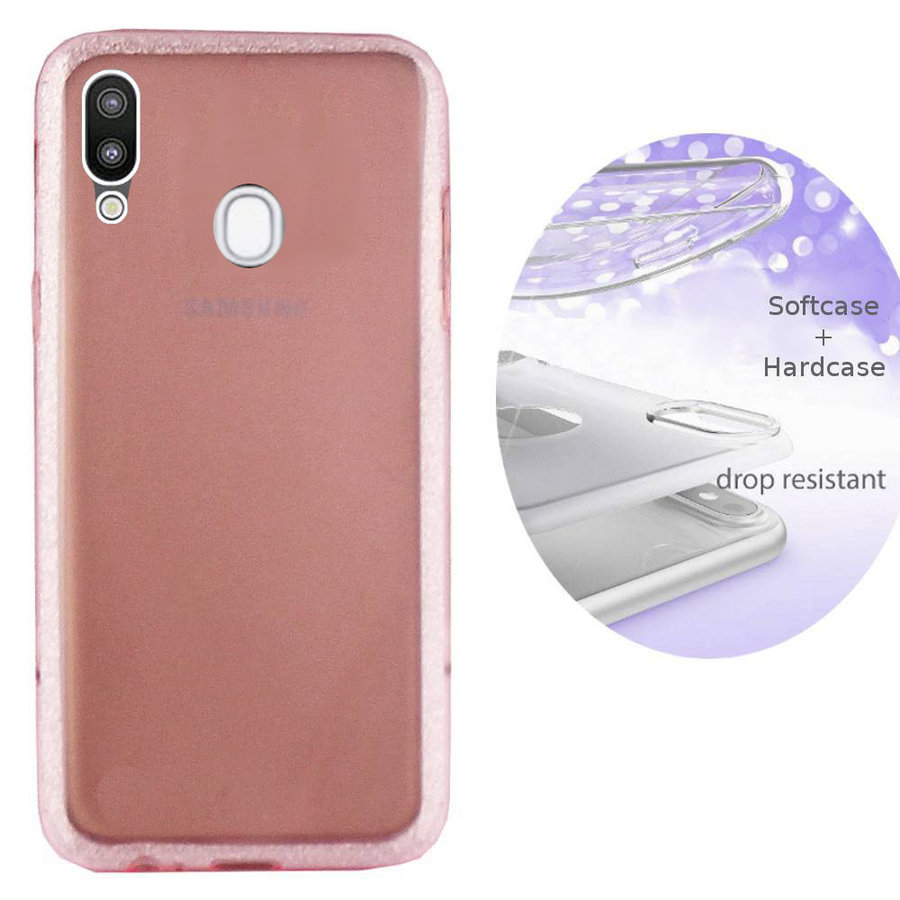 BackCover Layer TPU + PC Samsung A20 / A30 Pink