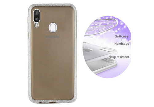 Colorfone BackCover Layer Samsung A20/A30 Zilver