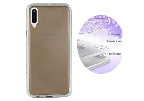 Colorfone BackCover Layer Samsung A70 Silver