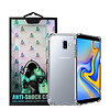 Atouchbo Backcover Anti-Shock TPU + PC voor Samsung J6 Plus Transparant