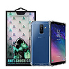 Atouchbo Backcover Anti-Shock TPU + PC do Samsung A6 Plus 2018 Przezroczysty