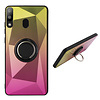 Colorfone BackCover Ring Aurora voor Samsung A20/A30 Goud+Roze