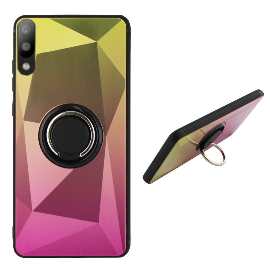 BackCover Ring Aurora voor Samsung A10/M10 Goud+Roze