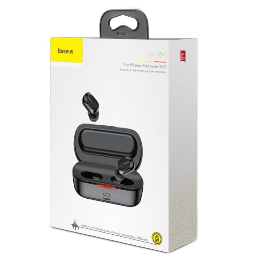 True Wireless Earphones W01 Zwart