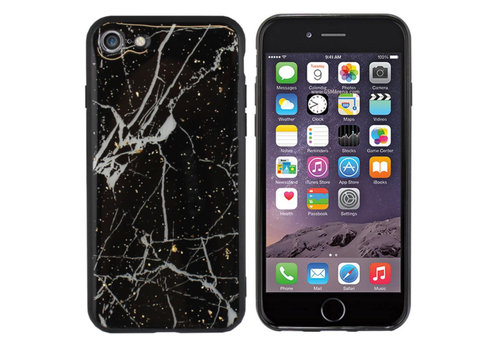 Colorfone BackCover Marble Glitter A60 Black