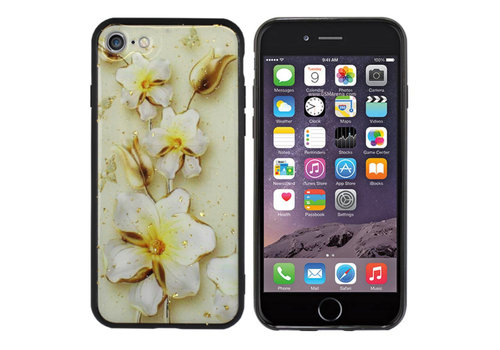 Colorfone BackCover Marble Glitter A60 Gold