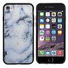 Colorfone BackCover Marble Glitter voor Samsung A60 Blauw