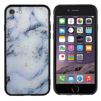 BackCover Marble Glitter voor Samsung A60 Blauw