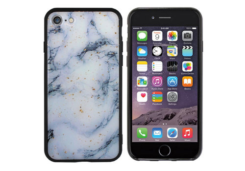 Colorfone BackCover Marble Glitter A60 Blue