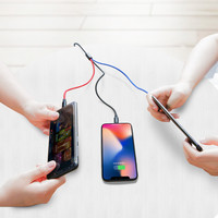 Color 3in1 Cable Lightning/Micro/Type C