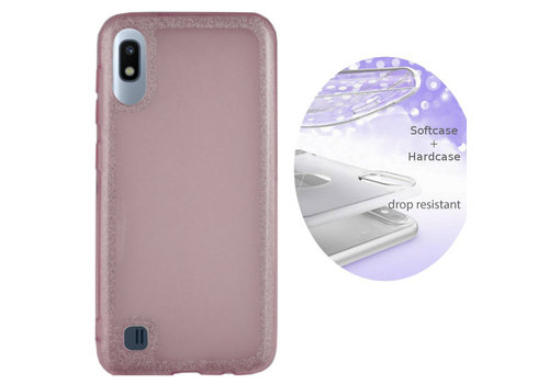 Colorfone BackCover Layer Samsung A10 Pink