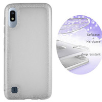 BackCover Layer TPU + PC Samsung A10 Silber