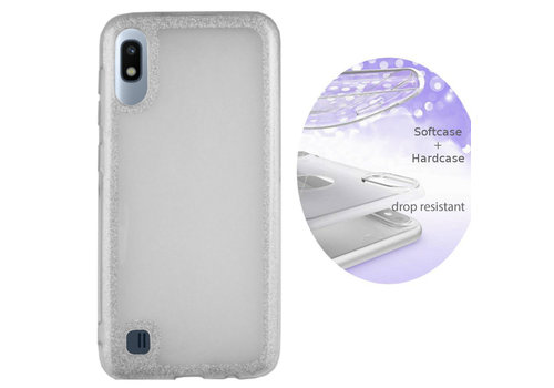 Colorfone BackCover Layer Samsung A10 Silver